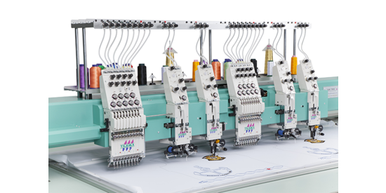 Tajima's special embroidery machine
