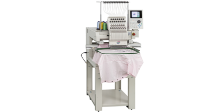 Tajima's industrial embroidery machine
