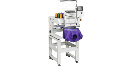 Tajima's single head embroidery machine
