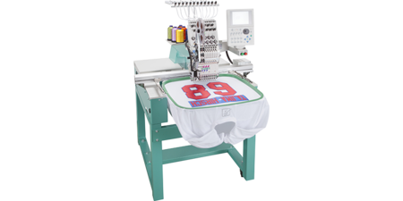 Tajima's embroidery machine