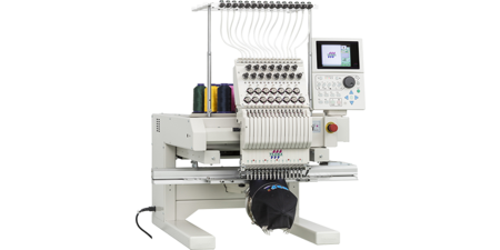 Single-head industrial embroidery machine